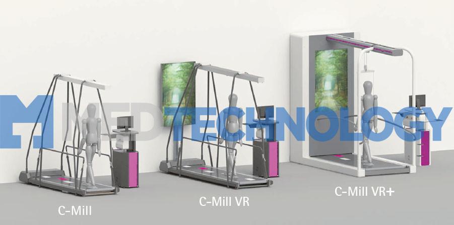 C-Mill, C-Mill VR, C-Mill VR+, реабилитационная беговая дорожка