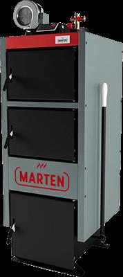 Твердотопливный котел MARTEN Comfort MС-24 кВт с автоматикой