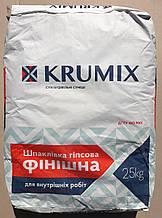 Шпатлевка Krumix ФИНИШ, 25кг, Ив.-Фран. цемент