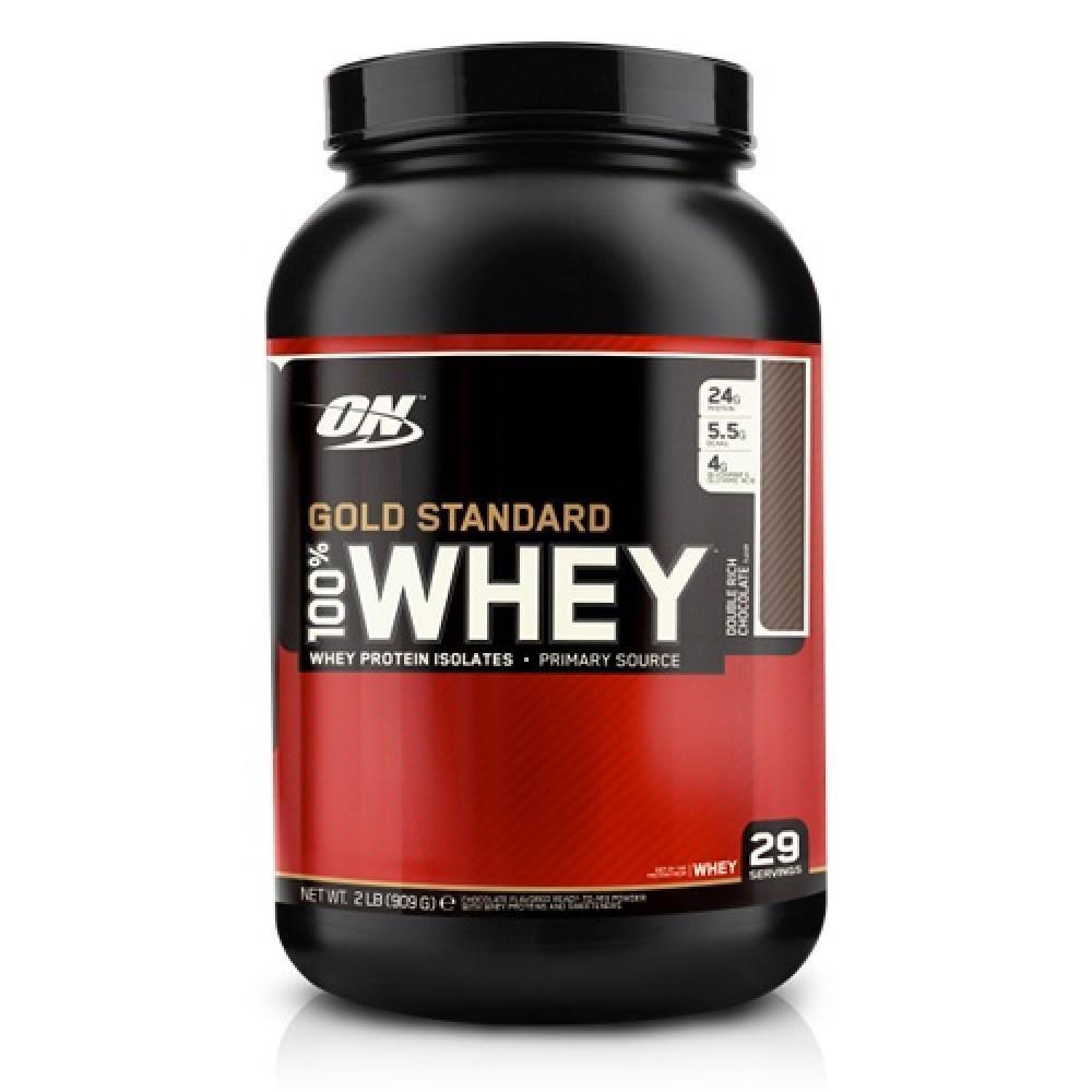 Optimum Nutrition - 100% Whey Gold Standard (907 грамм) vanilla ice cream/ванильное мороженое