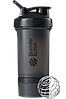 Шейкер спортивный BlenderBottle ProStak 650ml с 2-мя контейнерами Black (ORIGINAL)