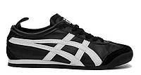 "Кроссовки Onitsuka Tiger Mexico 66 ""Black/White""  (Копия ААА+)"