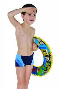 Плавки детские купальные Shepa 034 (original), трусы-боксеры для бассейна, пляжа, для мальчика 122
