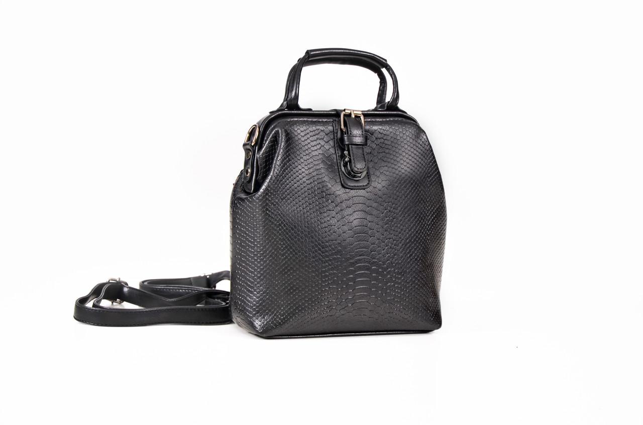 Сумка рюкзак женская L&M черный (AV020)