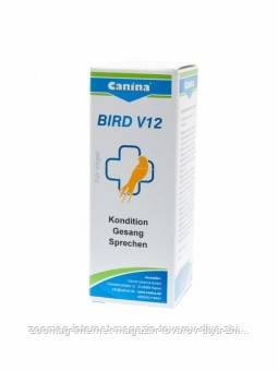 """Вітамінний комплекс """"Bird V12"""" для птахів 25мл., Canina™"""