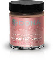 Краска для тела Dona Kissable Body Paint - VANILLA BUTTERCREAM, 59 мл