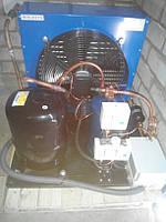 Низькотемпературний холодильний агрегат R404a/R507 , 850 Вт. холод. (220 V)
