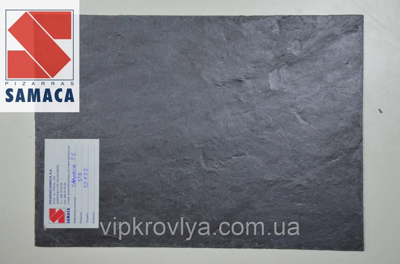 """Натуральный сланец Samaca 53 """"Прямоугольник"""" кровельный 7,8 мм."""
