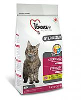 Сухой корм ФЕСТ ЧОЙС 1st Choice Sterilized Chicken для стерилизованных котов с курицей 5 кг.