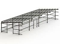 Ангар односкат 14х30 (склад, каркас, помещение под бизнес, фермы,цех), фото 1