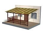 Ангар односкат 14х30 (склад, каркас, помещение под бизнес, фермы,цех), фото 3