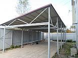 Ангар односкат 14х30 (склад, каркас, помещение под бизнес, фермы,цех), фото 4