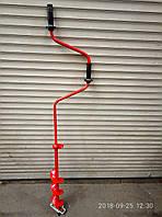 Ледобур Житомир (красный) Диаметр 130 мм