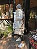 Пуховик-одеяло серебряный с варежками L/XL, фото 10