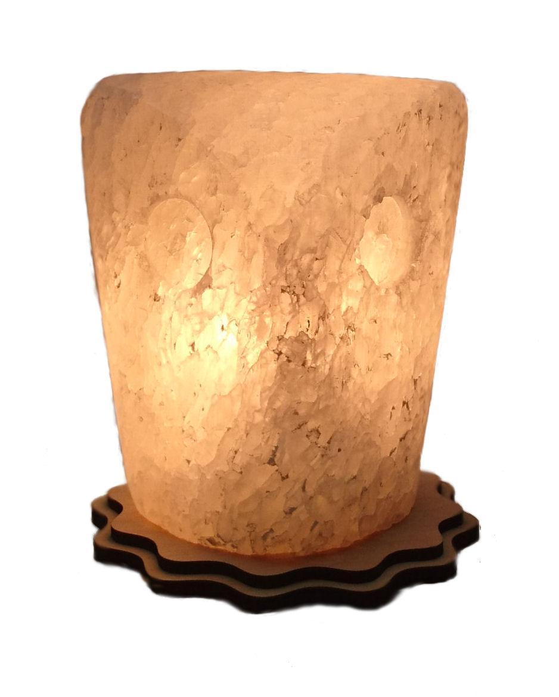 Соляной светильник Цилиндр сова