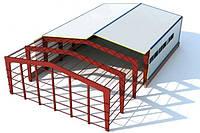 Склад 12х30 балочный, ангар, каркас, навес,фермы, помещение,цех,здание, фото 1