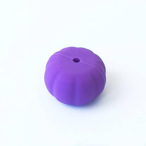 Тыква (сирень) бусины из пищевого силикона-