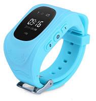 Q50s Детские умные смарт часы-телефон с GPS трекером Smart Baby Watch голубые