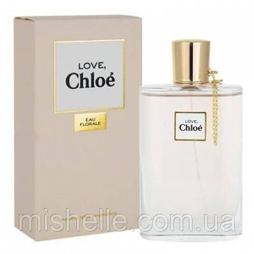 Туалетная вода для женщин Chloe Love Eau Florale (Хлое Лав О Флорал) копия