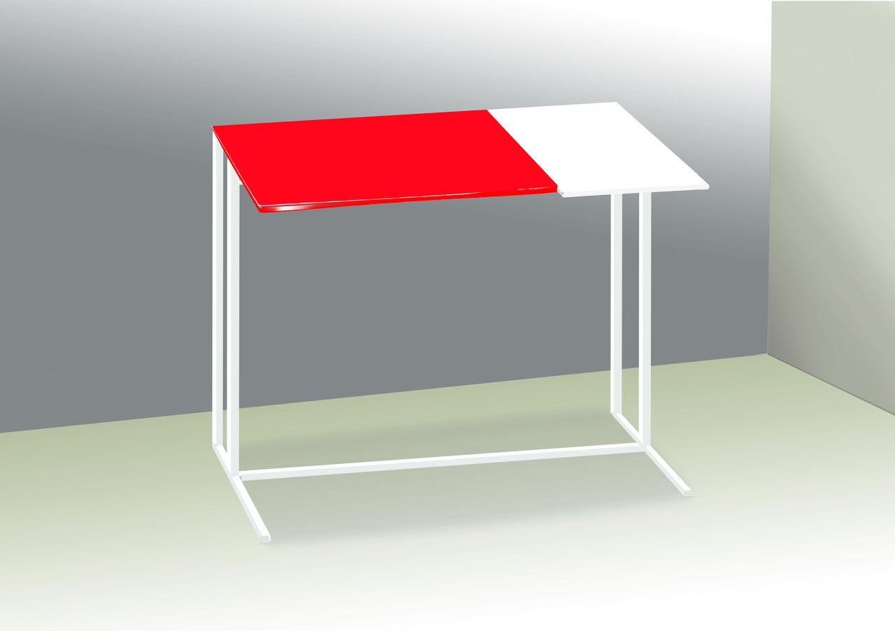 Стол приставной для предметов комфорта и IT-техники Commus Comfort A600 red/white/white