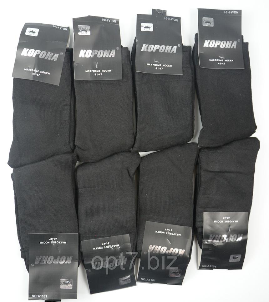 Махровые мужские носки Корона 41-47