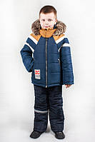 Зимний  комбинезон на мальчика ЗС-1, фото 1