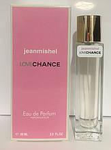 Духи женские jeanmishel Love Chance 60ml в высоком флаконе