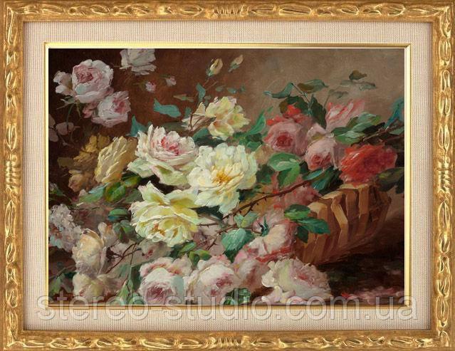 Репродукции картин на холсте известных художников в ассортименте