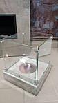 Біокамін камін бетон 4 скла loft для терраси квартири ресторану камин биокамин
