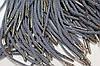 Шнурки канат 4мм (серый)с металлическим наконечником (никель) (1.25м)