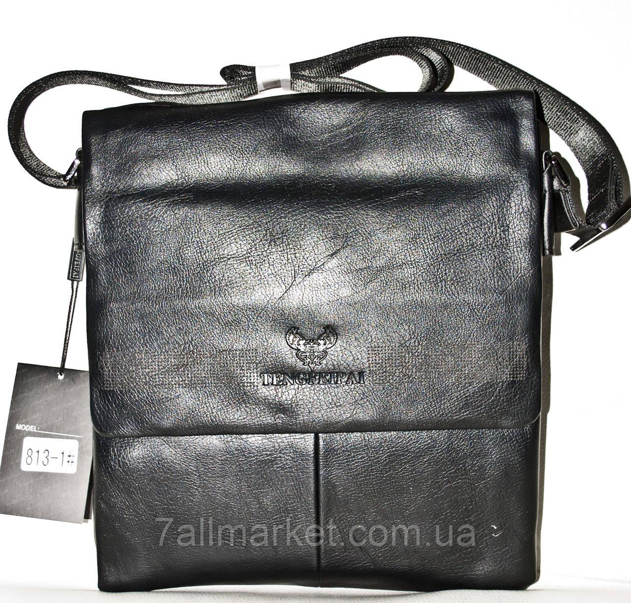 f0df5cb34ffa Сумка-планшетка мужская стильная кожзам (25*28 см), 1 цвета Серии ...