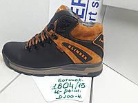 Ботинки мужские Energy модель 1604/13 (черный с рыжим)