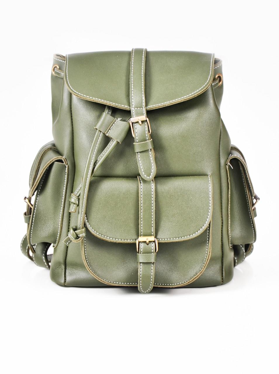 Рюкзак винтажный Mojoyce хаки (683)