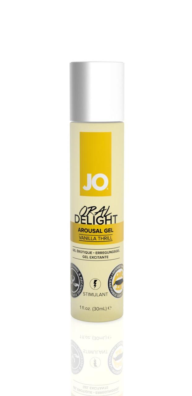 Стимулирующий съедобный оральный гель System Jo Oral Delight