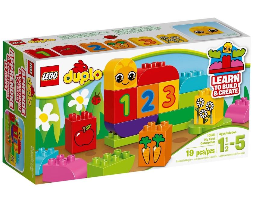 Lego Duplo Моя весёлая гусеница 10831