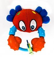 Nuby Игрушка-прорезыватель Морские приятели (ассорт.: осьминог, крабик, морской конек) 4+ 499 EUT/03-09