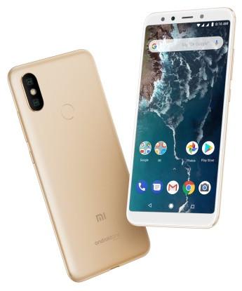 """Смартфон Xiaomi Mi A2 4/32Gb Gold Global, 12+20/20Мп, Snapdragon 660, 2sim, 5.99"""" IPS, 3010mAh, GPS, 8 ядер"""