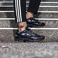 Мужские кроссовки Adidas x Raf Simons Ozweego 2 Bunny Black ( Реплика )