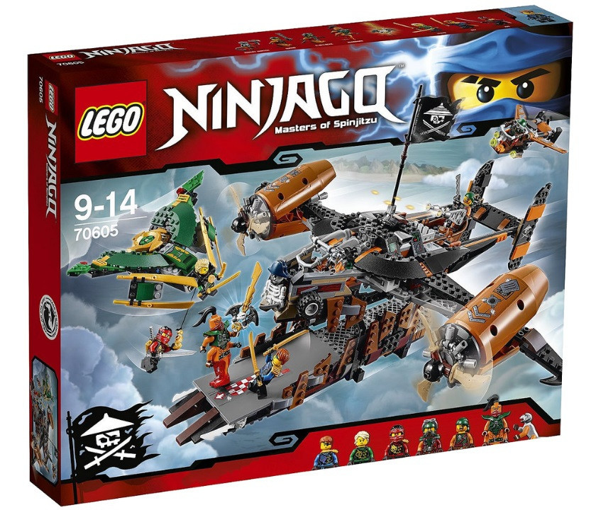 LEGO Ninjago Цитадель несчастья 70605