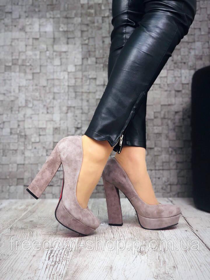 Шикарные Замшевые Туфли Lux Fashion. Украина — в Категории