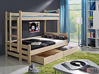 """Ліжко з масиву """"Бостон"""", фото 1"""