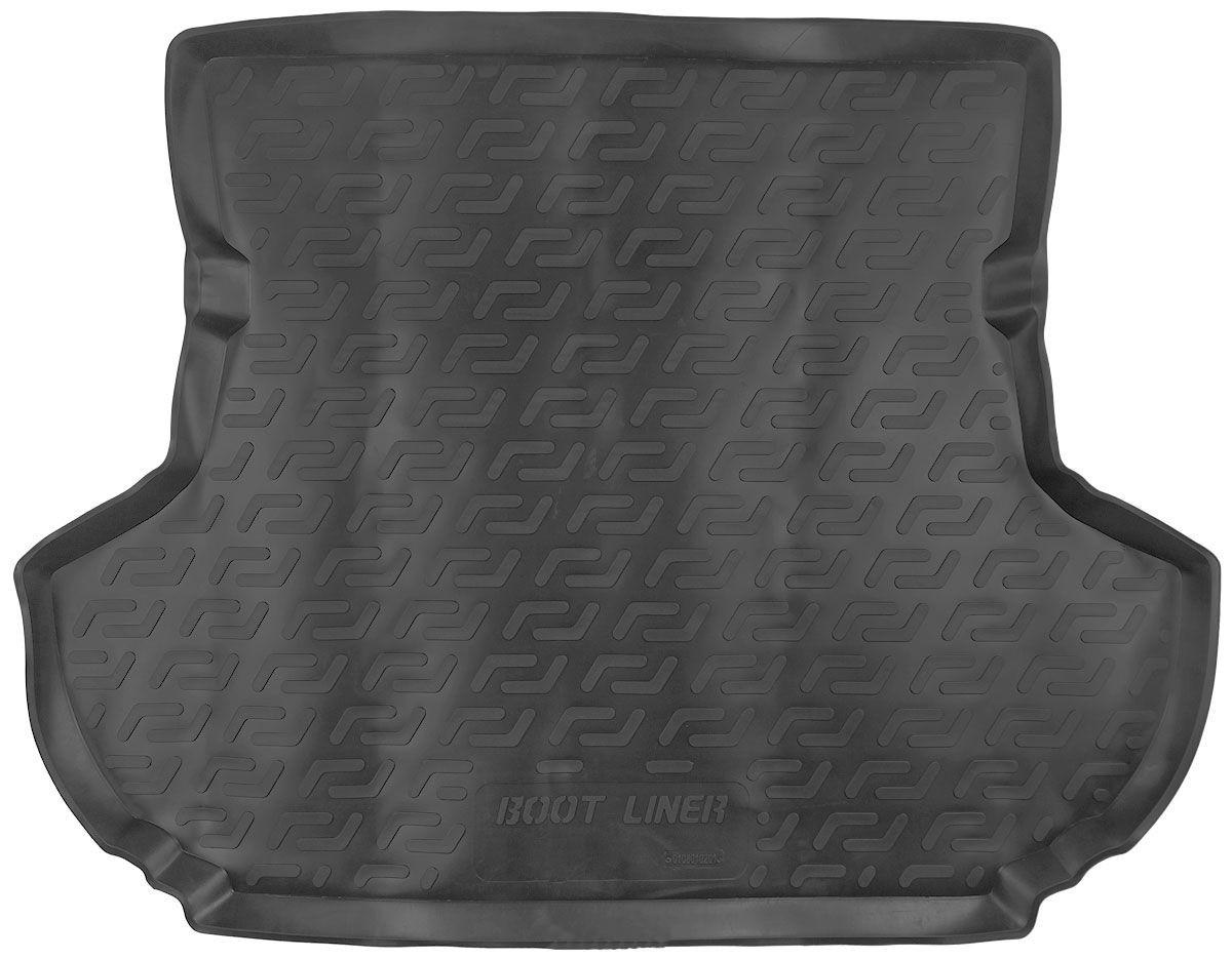 Коврик в багажник для Mitsubishi Outlander XL (07-12) полиуретановый 108010201