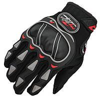 Pro-Biker MCS-03, Black, M, Мотоперчатки текстильные с защитой, фото 1