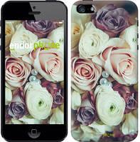 """Чехол на iPhone 5s Букет роз """"2692c-21-15626"""""""