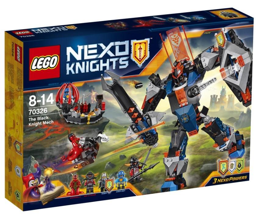 Lego Nexo Knights Робот Чорний лицар 70326