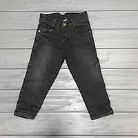 Детские джинсы на меху для мальчиков 2 и 3 года оптом, фото 1