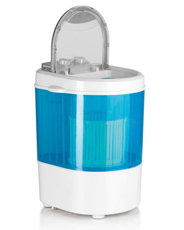🔝 Портативная мини стиральная машина EasyMaxx (бело-голубая), 260W, с доставкой по Киеву и Украине | 🎁%🚚