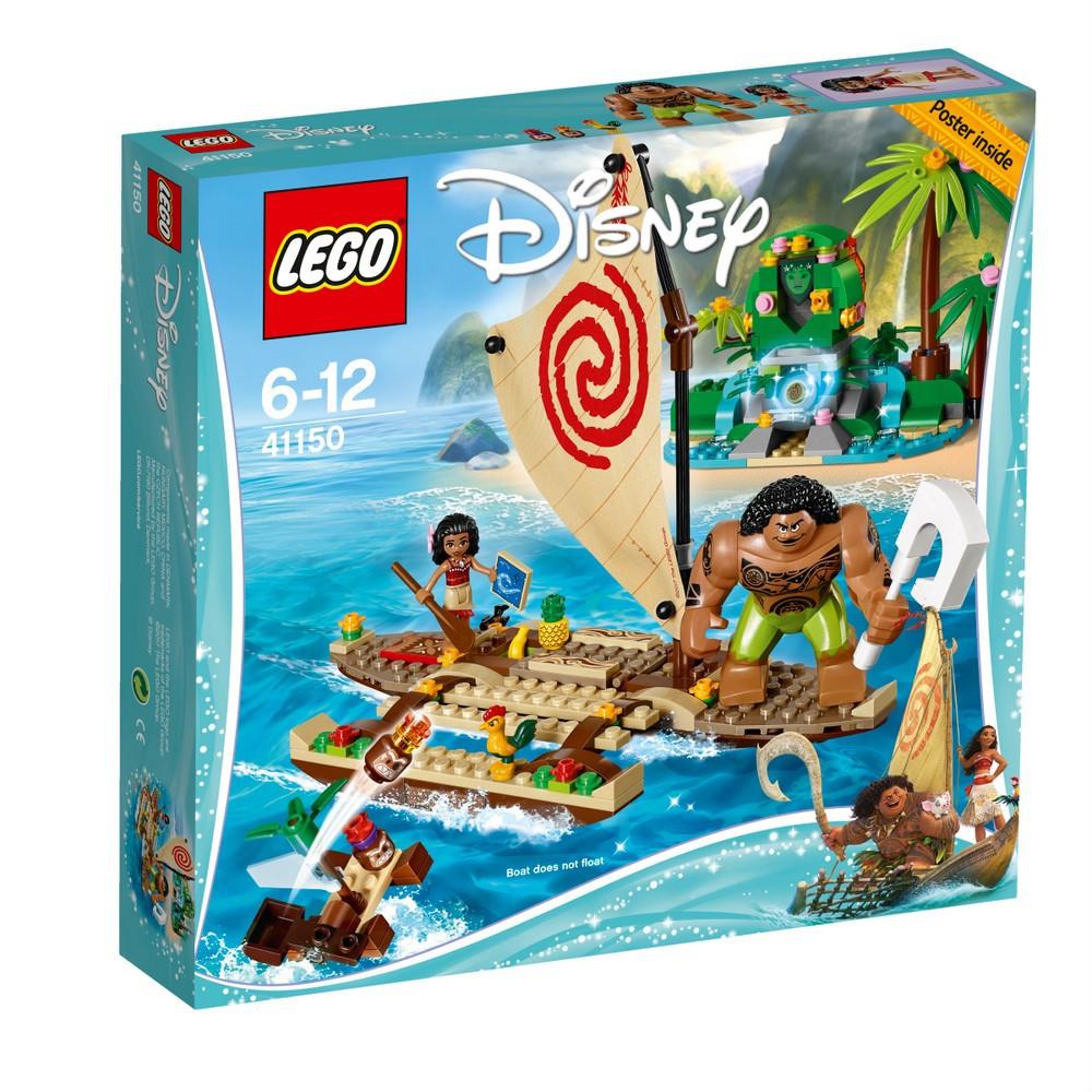 Lego Disney Princess Путешествие Моаны через океан 41150