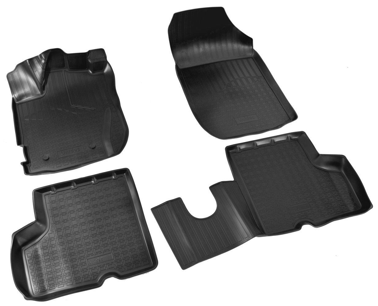 Коврики в салон для Renault Kaptur 3D (16-) (полиур., компл - 4шт) NPA11-C69-240
