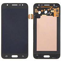Дисплей (экран) для Samsung J500H Galaxy J5 (2015) + тачскрин, черный, без регулировки яркости